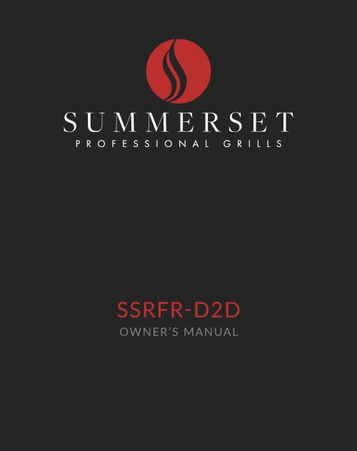 Summerset SSRFR-D2D Manual