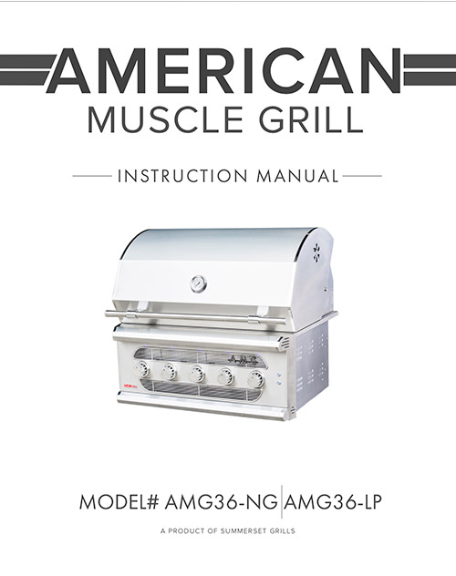 American Muscle Grill Manual
